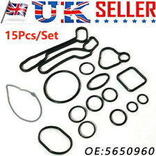 UK OIL COOLER GASKETS SET FOR VAUXHALL OPEL INSIGNIA ASTRA CORSA ZAFİRA 5650960