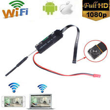 Wireless WiFi Hidden Spy Camera HD 1080P DIY Module DV DVR Motion Nanny Cam 95°