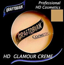 Graftobian HD Glamour Crème Foundation Cabaret Kitten (N)1/2 oz Olive Beige