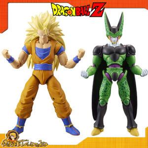 Action Figure Dragon Stars Goku Super Saiyan Sayan 3 Perfect Cell Dragon Ball Z