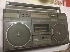 SABA RCR 490 - RADIO REGISTRATORE FUNZIONANTE - ANNI 80 - STEREO RADIO CASSETTE