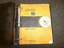 John Deere 410D & 510D Backhoe Loader Parts Catalog Manual Book Jun '96 PC2322