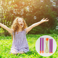 Giant Bubble Wands Toy 2 Pieces Set for Kids Toy Making BIG Bubbles Party Favors