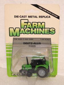 ERTL Deutz-Allis 7085 Tractor 1990 Farm Show Ed. 1:64 Scale Diecast  NIP