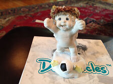 "Dreamsicles Figurine Feet First Dc 320 3 1/4"" Good Condition Pre-Ownedd"
