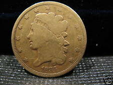 1834 -$5 GOLD CLASSIC HEAD IN GOOD CONDITION!!