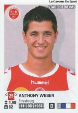 N°326 ANTHONY WEBER # STADE DE REIMS VIGNETTE STICKER  PANINI FOOT 2013