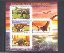 Romania 2005 Prehistoric/Animal/DINOSAURS 4v sht n15216