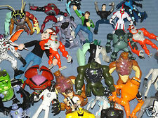 "BEN TEN 10 CHARACTERS ACTION FIGURES LARGE 6"" FIGURES MULTI LISTING"