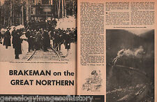 Brakeman On The Great Northern Railway + Genealogy