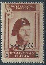 1946 CORPO POLACCO POSTA AEREA 5 Z MH * - RR11897