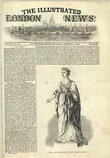 1845 Ferrovia speculazione panico Victoria Statua Royal Exchange