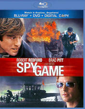 Spy Game (Blu-ray/DVD, 2011, 2-Disc Set) - NEW!!