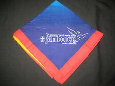2007 World Jamboree Contingent Support Teams Red border Neckerchief         j13