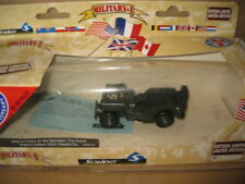 1/43 SOLIDO MILITARY JEEP 4th BATTALION ROYAL WELCH FUSILIER WELSH DIV OLD STOCK
