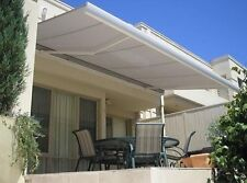 Luxtek Retractable Folding Arm Awning 4.0m x 3.0m Full Cassette Motorised