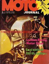 MOTO JOURNAL  101 JUPITER 350 IJ KAWASAKI Z900 Z1 Barry SHEENE MONARK Salon 1973