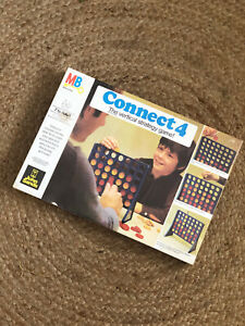 NEW SEALED Vintage 1976 Connect 4 Four Vertical Checkers Game Milton Bradley