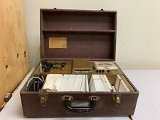 Vintage Hickok Model 121 Mutual Conductan Cardmatic Tube Tester Withcards And Case