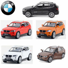 BMW X3 SUV Diecast Model Car Metal Alloy Pull Back Collection Vehicle Decor Toy