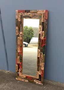 RECYCLED TIMBER MIRROR