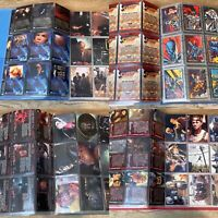 Four Complete Mint Card Sets X Files('96 & '98) Xena & Return Of Superman Skybox