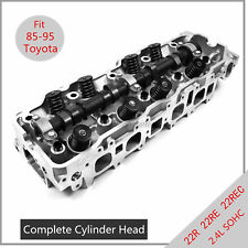 Complete Cylinder Head Head  Fits 85-95 Toyota 2.4 22R 22RE 22REC