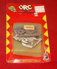Warhammer Fantasy 9001 Orc Archer And Orc With Axe New In Pack 1980's RARE Metal