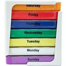 JFA Medical Weekly Stackable Pill Box Organiser/Reminder