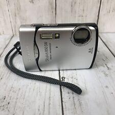 Olympus Stylus 850 SW 8.0MP Digital Camera Waterproof Silver