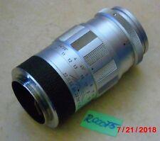 LEICA M-ELMARIT-OBJEKTIV; 90mm;1:2.8;  LEITZ WETZLAR GERMANY; M39 (R00075)