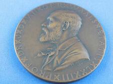 Medaille NIEDERLANDE Dr. Van der WAALS F.E. Jeltsema 1911 -  112,g - 65mm  (B40)