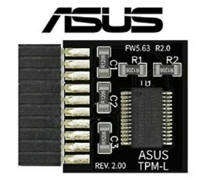 ASUS TPM-L R2.0 Compatible Trusted Platform TPM 2.0 Module (20 Pin)