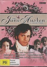 The Jane Austen Collection DVD NEW Sense Sensibility Mansfield Park Emma R4