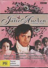 The Jane Austen Collection DVD NEW Sense Sensibility Mansfield Park Emma R4