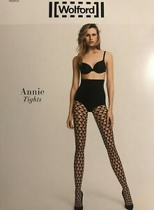 Wolford Annie Tights Size: Small Color: Gobi / Black 14662 - 09