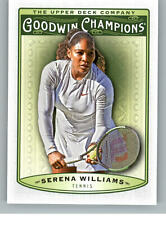 2019 Upper Deck Goodwin Champions 10 Serena Williams - Tennis