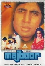 MAJBOOR - ORIGINAL EROS BOLLYWOOD DVD - Amitabh Bachchan, Parveen Babi.