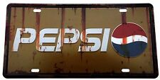PEPSI METAL TIN SIGNS vintage cafe pub bar garage decor