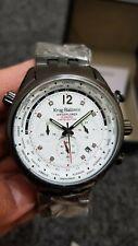 Krug Baumen 100103DM Air Explorer Diamond Ltd Edition Black Steel Chrono Watch.