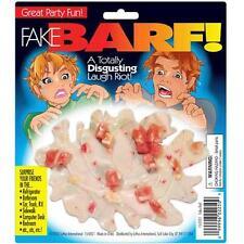 4 LARGE PILE OF FAKE BARF joke rubber vomit  throwup trick gag novelty NEW puke