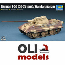 1/72 German E-50 Project Tank (50-75 tons)/Standardpanzer - Trumpeter 07123