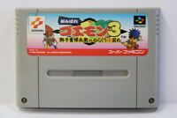 Ganbare Goemon 3 Mystical Ninja SFC Nintendo Super Famicom SNES Japan Import
