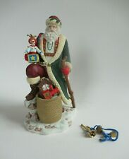 "Belsnickel Santa Hamilton Collection International Santa  1992 9"" GCIB"