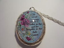 THE SPECIAL FRIENDSHIP BETWEEN A MOTHER-IN-LAW AND DAUGHTER-IN-LAW LOCKET 26""