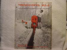 ARPS TRENCH-DEVIL MA-2  c 1960 sales brochure