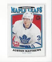 2016-17 O-Pee-Chee Retro #694 Auston Matthews RC Rookie Maple Leafs