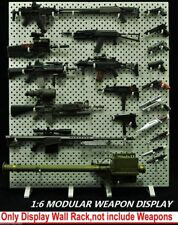 Modular Army Weapon Display Rack 1/6 scale Plastic Gun Toy Showing Stand