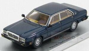 Maserati Quattroporte 4.9 1983 Blue Sera Met Kess Model 1:43 KS43014013 Model