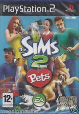 Ps2 PlayStation 2 **THE SIMS 2 PETS**  Nuovo Sigillato Italiano Pal
